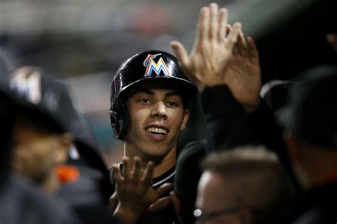 marlins season review christian yelich fish stripes