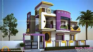 Minimalist Indian Modern Home Exterior Design Of House