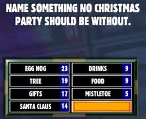 a game of friendly family feud christmas pinterest christmas parties game of and