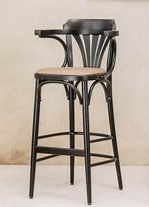 Tabouret De Bar Cuir : tabouret bar ton 135 par 2 tabourets assise cuir ou tissu clous ~ Teatrodelosmanantiales.com Idées de Décoration