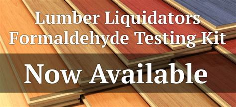 laminate floor formaldehyde testing where how to get