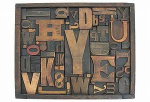 love this framed wood typeset letters inspiration art With wooden typeset letters