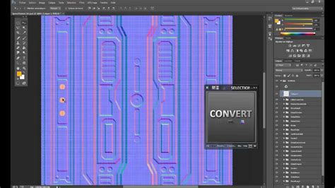 speedtexturing photoshop ndo sci fi floor panel part youtube