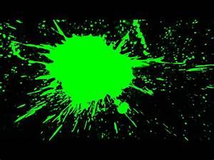 Tache De Couleur Peinture Fond Blanc : green screen hd fond vert background fond tache verte sang peinture youtube ~ Melissatoandfro.com Idées de Décoration