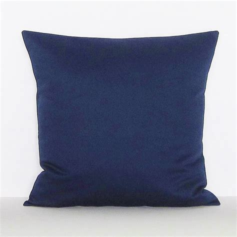 Accent Pillows by Navy Blue Pillow Cover Decorative Throw Accent Toss Pillow