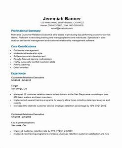 Customer Service Manager Sample Resume Free 34 Executive Resume Templates In Pdf Ms Word
