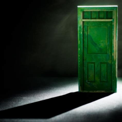 the green glass door rapturous green glass door riddle what is the answer to