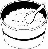 Rice Bowl Clipart Clip Coloring Fried Outline Oatmeal Curry Sheets Cooked Cliparts Meal Library Operation Result Beans Clipground Overnight Spoon sketch template
