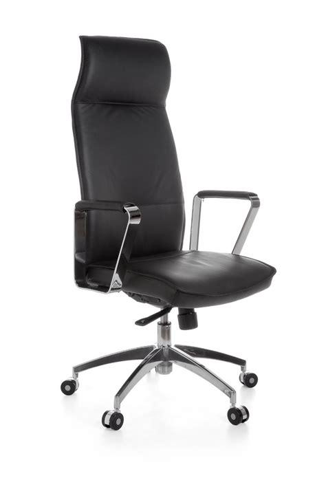 amstyle chaise de bureau en cuir président exécutif vérone noir office neuf ebay