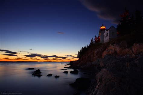 bass harbor lighthouse acadia national park maine