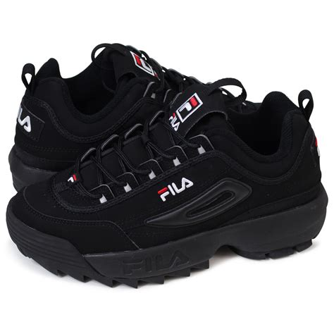 Sepatu Fila Black whats up sports fila disruptor 2 フィラディスラプター 2 sneakers