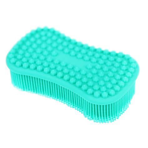 Amazon.com : ELFRhino Bath Sponge 2 in 1 Silicone Shower