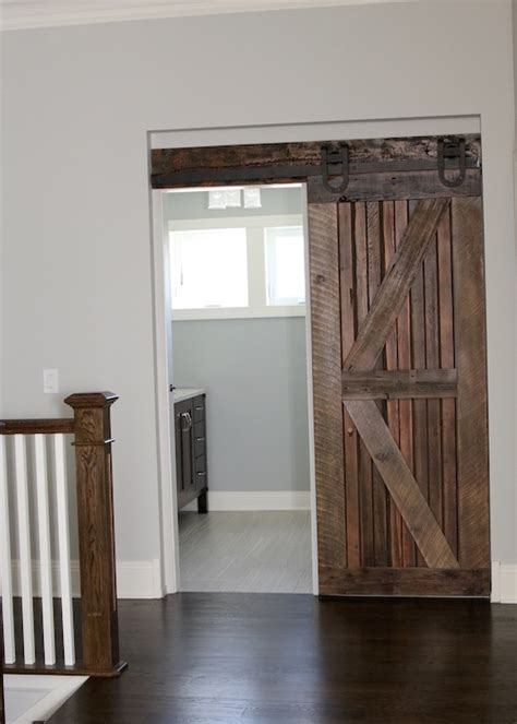 farmhouse chic sliding barn doors  chic life