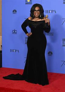 What Oprah Winfrey Wore for Her Cecil B. Demille Award at ...