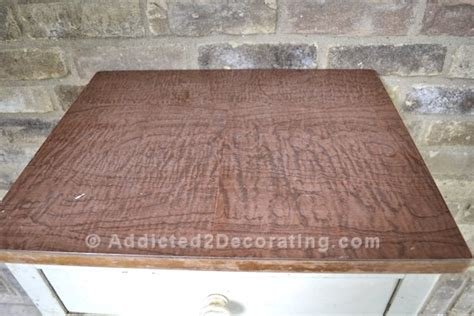 laminate covering how to cover ugly laminate with pretty wood veneer
