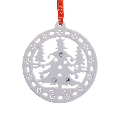 christmas forest christmas ornament 2017 belleek