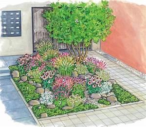 Kleiner Zaun Für Beet : vorgarten vorher nachher inspirationen f r den garten vorgarten bepflanzen garten und ~ Buech-reservation.com Haus und Dekorationen
