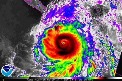 Hurricane Odile Infrared Heat Satellite Temperature Landfall