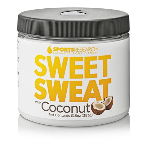 Sweet Sweat With Extra Virgin Organic Coconut Oil Xl Jar