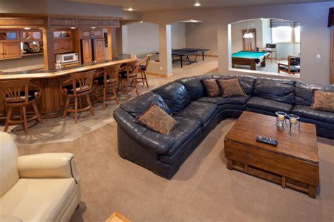 basement design gallery
