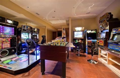 Gaming Room : Creating A Basement Game Room