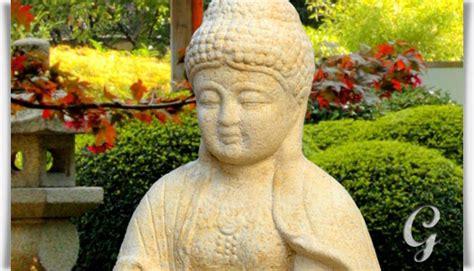 Buddha Gartenskulptur Sitzend  Panna • Gartentraumde