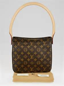 louis vuitton monogram canvas looping mm bag yoogis closet