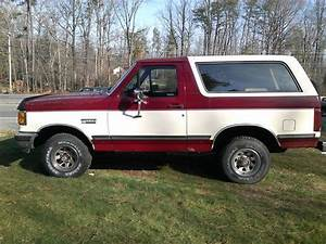 Buy used 1990 FORD BRONCO 4X4 XLT in Mechanicsville, Maryland, United States