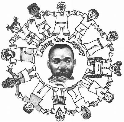 Martin Coloring Luther King Jr Pages Worksheets