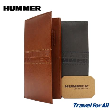 hummer leather long wallet  colors