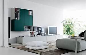 Versatile Design: Sintesi Bookcase by Varenna Poliform