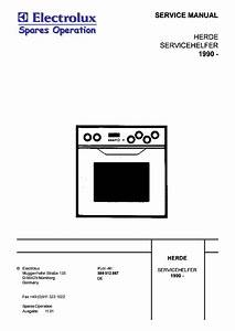 Electrolux Aeg Herde 1990 599512867 Competence 5020