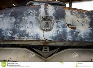 Fragment Of Rusted Body Of Full-size Pickup Truck Ford ...