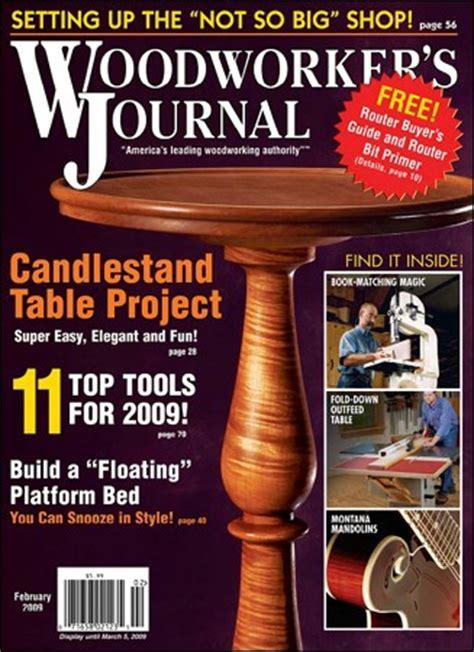 woodwork woodworking journal  plans