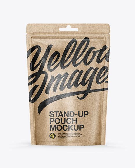 About 32% of these are paper bags, 2% are packaging bags, and 44% are plastic a wide variety of kraft paper stand up pouches options are available to you, such as paper type, industrial use. Download Kraft Paper Stand-up Pouch Mockup ObjectMockups ...