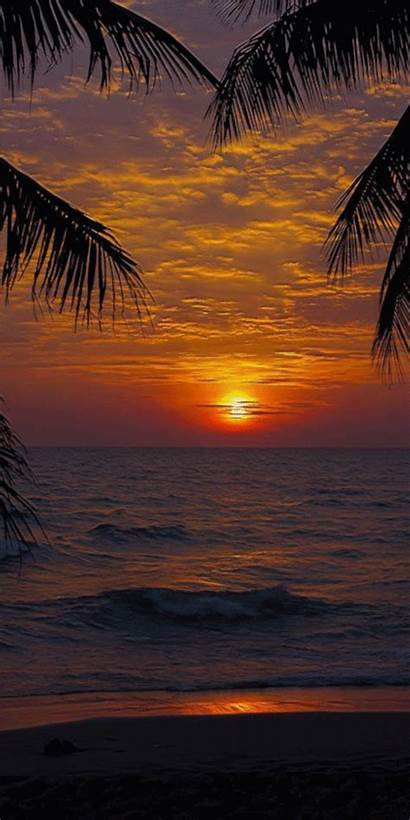 Nature Ocean Sunsets Sunset Amazonaws Lightning