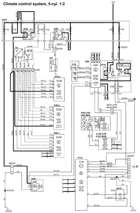 volvo s40 wiring diagram cz auto electrical wiring diagram