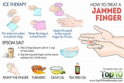 Jammed Finger Treat Treatment Trigger Remedies Joint