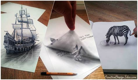 30 amazing ideas and pictures 30 amazing 3d pencil drawing designs creative design idea