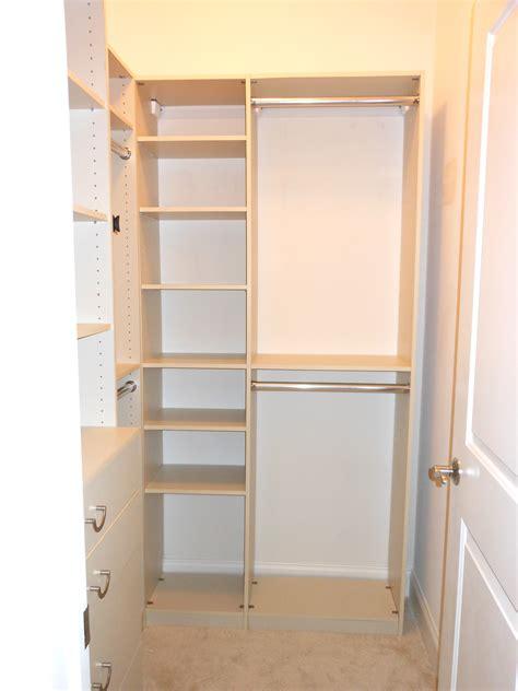 largeshaped brown mahogany walk in closet insmall