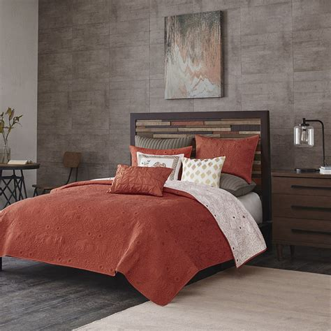Coverlet For Bed by Kandula Coral Coverlet By Ink Bedding