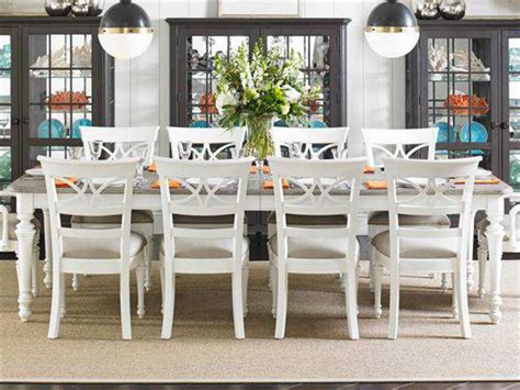 coastal kitchen table and chairs stanley furniture coastal living retreat saltbox white 72 8240