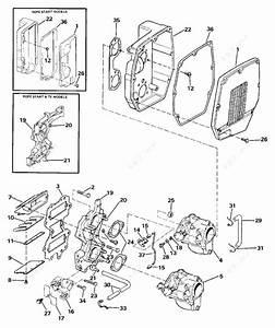Evinrude 1990 40 - Ve40elesr  Intake Manifold