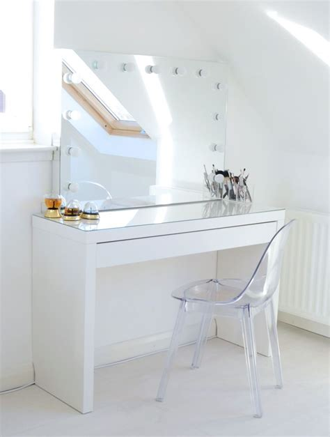 Schminktisch Stuhl Ikea by New Makeup Storage My Ikea Malm Makeup Vanity Home