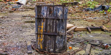 identifying  disposing  hazardous waste secure site