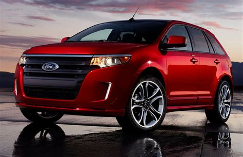 ford edge sport tussling   technology