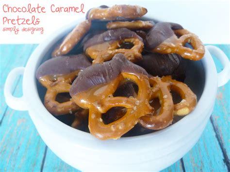 Chocolate Caramel Pretzel Recipe