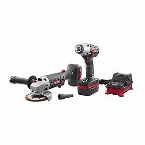 Craftsman C3 Lithium 2 U0026quot  Impact Wrench And Angle