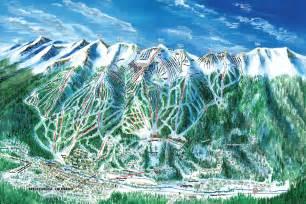 Breckenridge Ski Trail Map