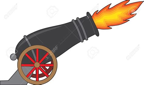 Cannon Clip Civil War Clipart Cannon Firing Pencil And In Color